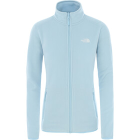 The North Face 100 Glacier Jack Doorlopende Rits Dames, angel falls blue